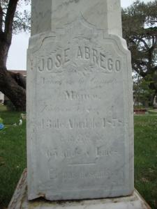 Jose Abrego's  grave, Monterey