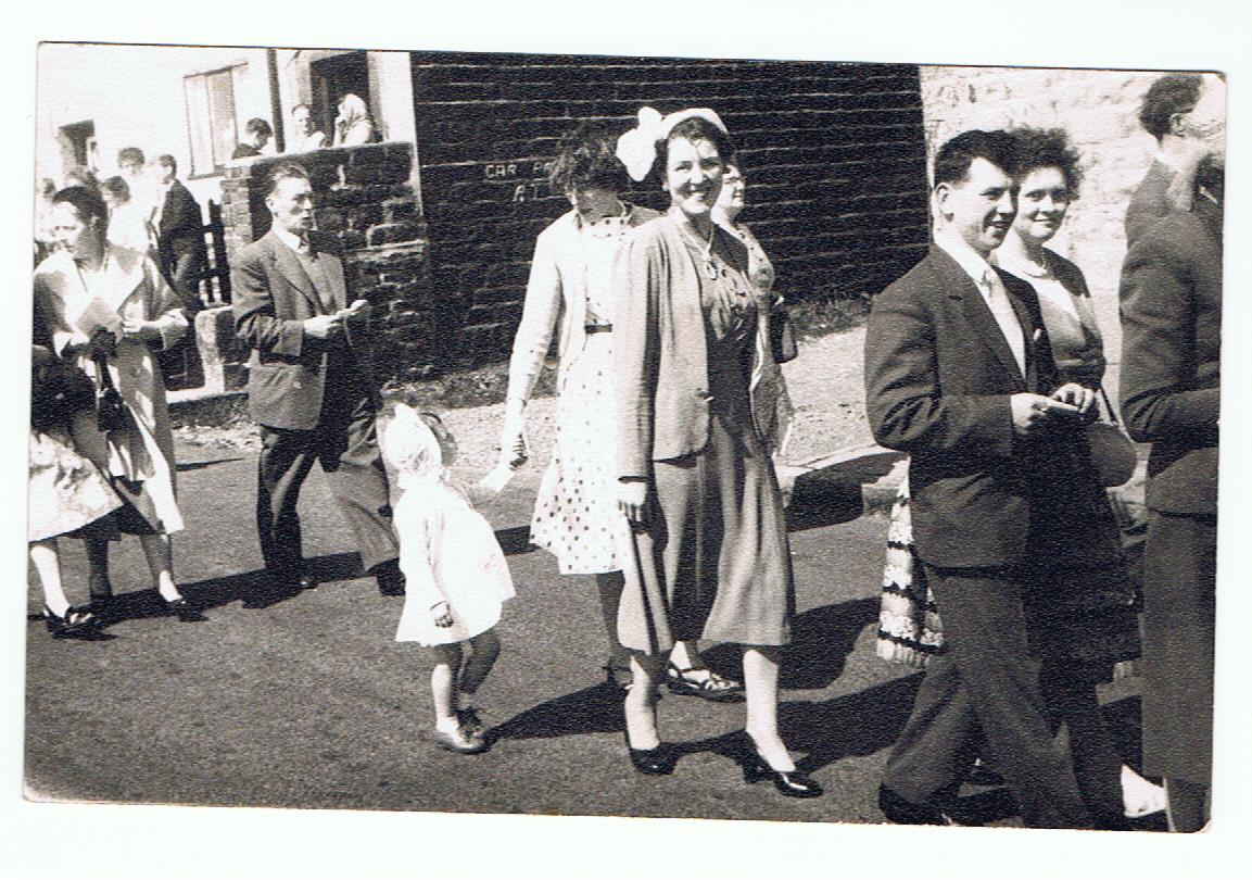 Hilda Denton at Affetside Rose Queen - 1960 001