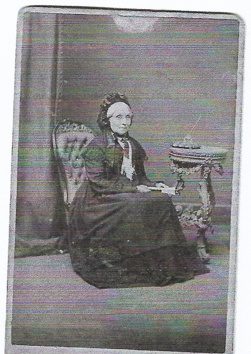 Elizabeth denton, Daniel's wife born 1806